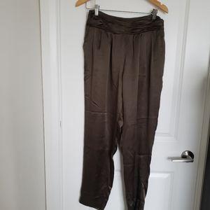 100% silk Club Monaco pants